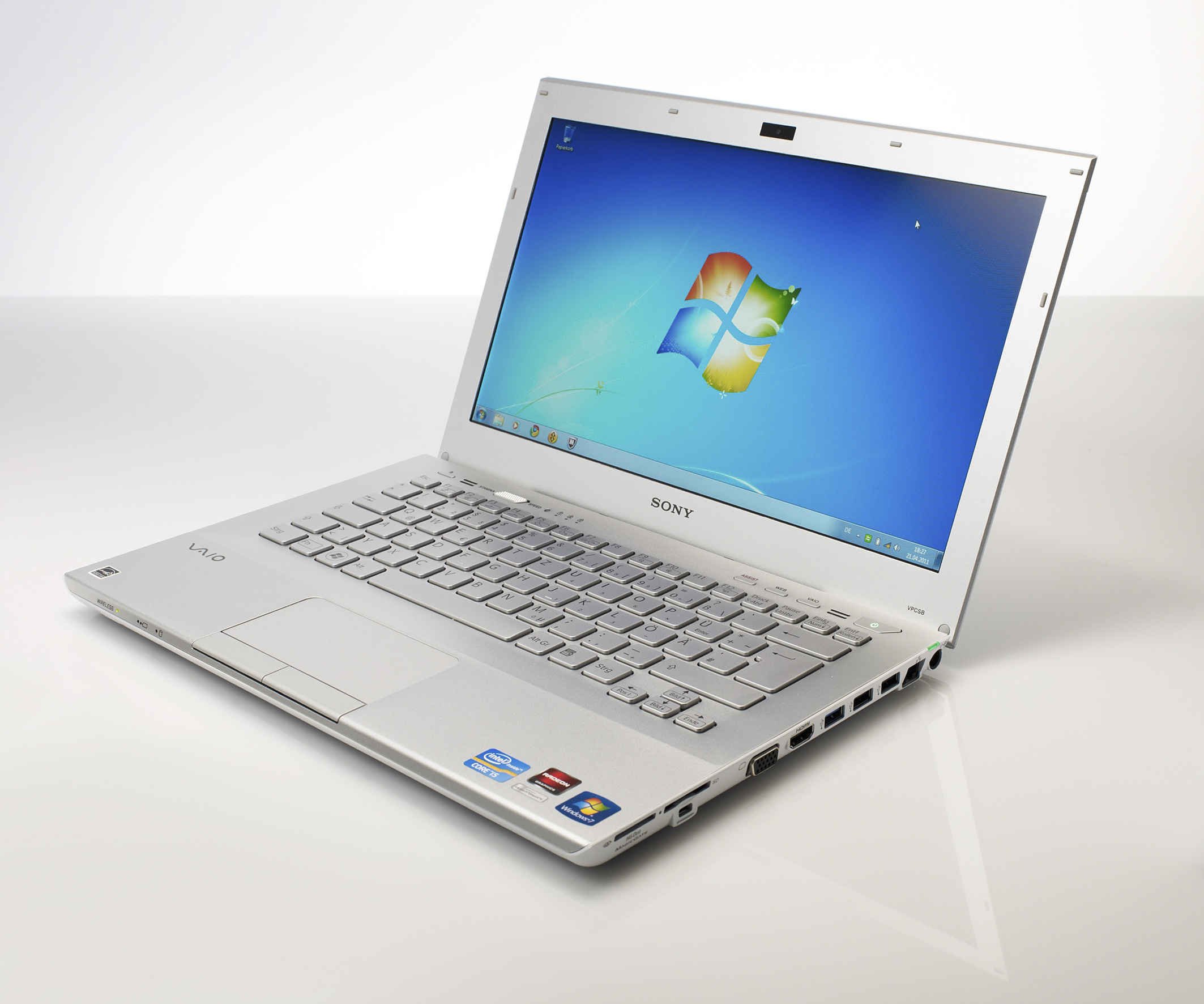 Microsoft Windows 7 Laptop (© Microsoft Deutschland)