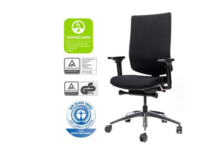 ckw1093 Bürodrehstuhl mit Auszeichnungen