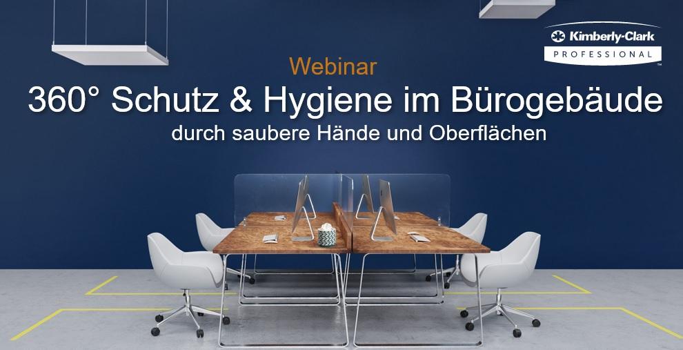 Webinar Schutz Hygiene im Büro(gebäude)